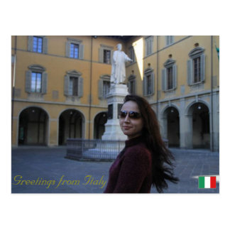 Greetings from Tuscany, Italy Postcard