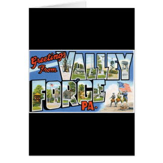 Greetings from Valley Forge Cards