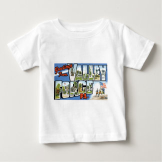 Greetings from Valley Forge, Pennsylvania! Baby T-Shirt