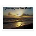 Greetings From Vero Beach! Postcard
