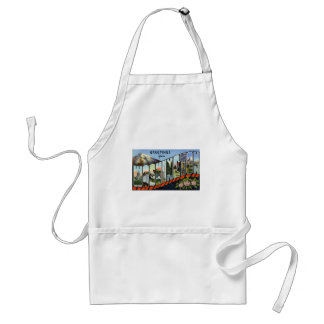 Greetings from Washington Adult Apron