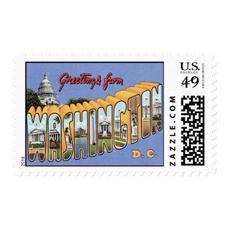 Greetings From Washington, D.C. Postage