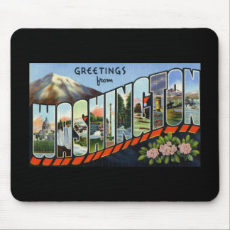 Greetings from Washington Mouse Pad