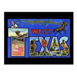 Greetings from West Texas Post Cards