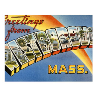 Greetings from Westborough Postcard