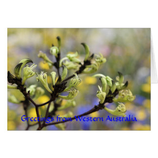 Greetings from Western Australia Card