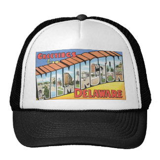 Greetings from Wilmington Delaware Trucker Hat