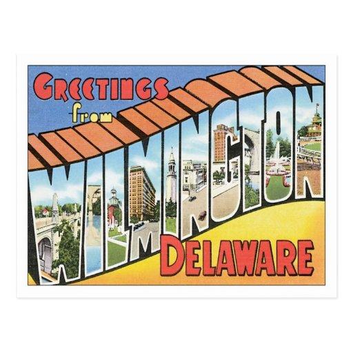 Greetings From Wilmington Delaware Postcard