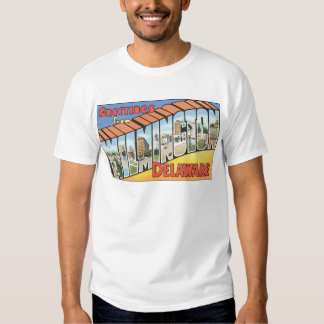 Greetings From Wilmington Delaware, Vintage T-Shirt