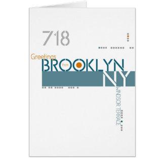 Greetings from Windsor Terrace, Brooklyn, NY Card