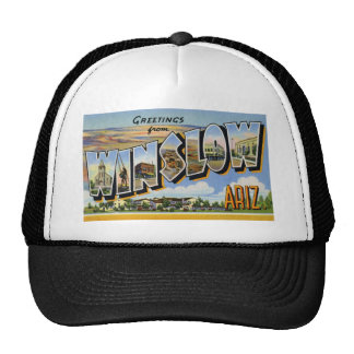 Greetings from Winslow Arizona Trucker Hat