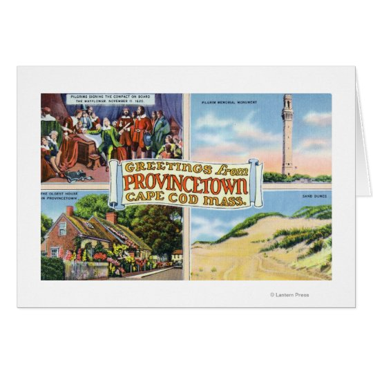 Greetings From with Scenic Scenes Card