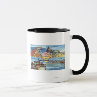 Greetings From with Scenic Views Mug