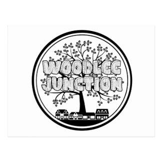 Greetings from Woodlee Junction! Postcard
