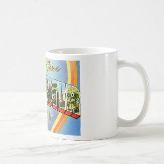 Greetings from Worcester Massachusetts Classic White Coffee Mug