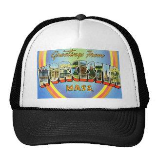 Greetings from Worcester Massachusetts Trucker Hat