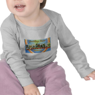 Greetings from Worcester Massachusetts T Shirts