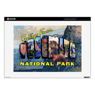 "Greetings From Yosemite National Park 15"" Laptop Skin"
