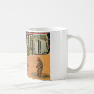 Greetings From Yosemite National Park Coffee Mug