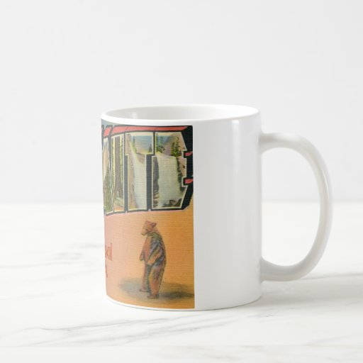 Greetings From Yosemite National Park Coffee Mugs