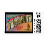 Greetings From Yosemite National Park Stamp