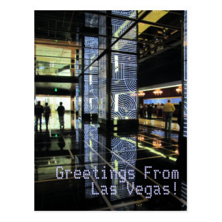 Greetings FromLas Vegas! Post Cards