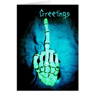 Greetings Greeting Card