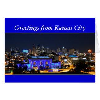Greetings, Kansas City Union Station Card