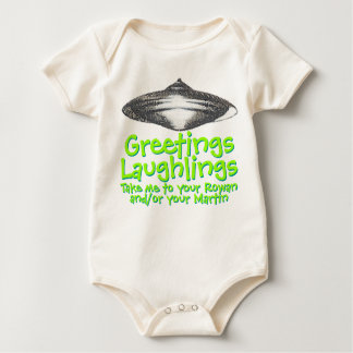 Greetings Laughlings 2.0 Baby Bodysuit
