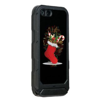 Greetings lovely holidays ideas nice Christmas diy Waterproof iPhone SE/5/5s Case