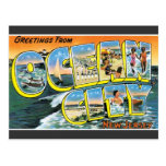 Greetings Ocean City, New Jersey Vintage Postcard