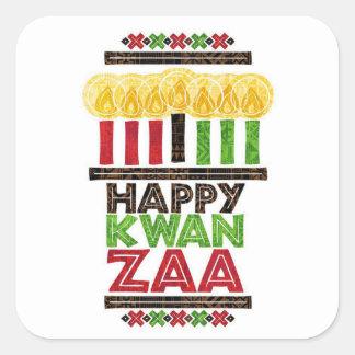 Greetings Of Kwanzaa Kwanzaa Holiday Stickers