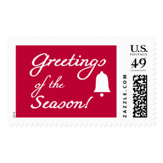 Greetings of the Season Postage Stamps