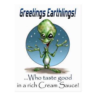 Greetings! Post Card