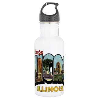 Greetings Stainless Steel Water Bottle