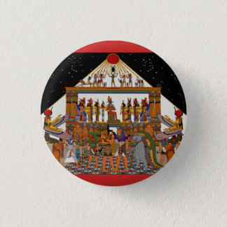 Greetings Tutankhamun Button
