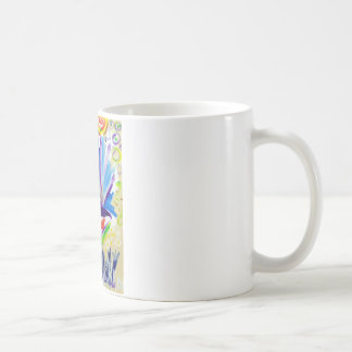 Greetings with Color by Piliero Coffee Mug