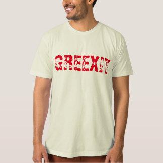 greexit Greek withdrawal eurozone  funny tshirt
