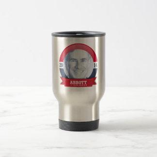 GREG ABBOTT CAMPAIGN BLUE -.png Coffee Mug