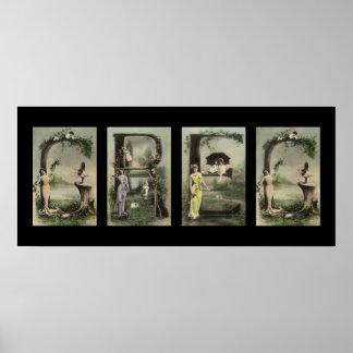 GREG Alphabet Letter Name Art Print