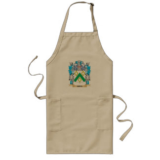 Greg Coat of Arms - Family Crest Long Apron