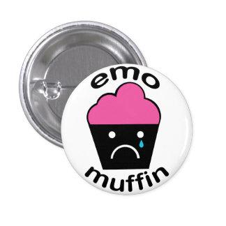 Greg el mollete de Emo Pin Redondo De 1 Pulgada