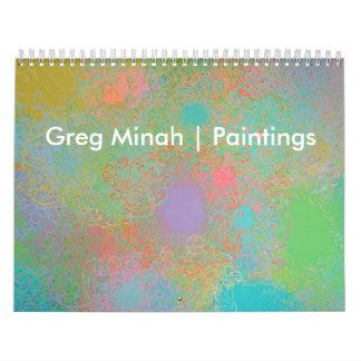 Greg Minah Art Calendar