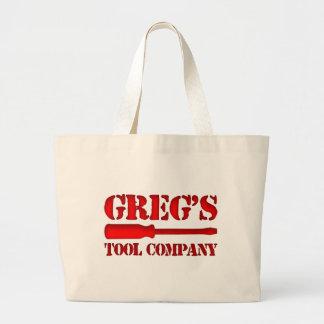 Greg s Tool Company Tote Bags