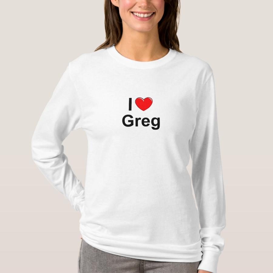 Greg T-Shirt - Best Selling Long-Sleeve Street Fashion Shirt Designs