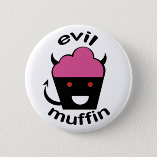 Greg the Evil Muffin Pinback Button
