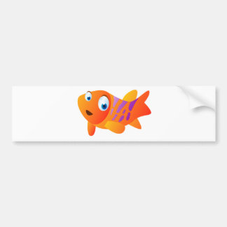 Greg The Goldfish Bumper Sticker