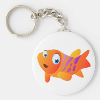 Greg The Goldfish Keychain