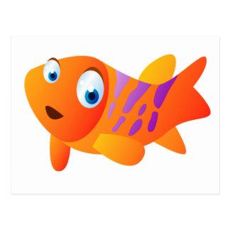 Greg The Goldfish Postcard