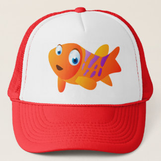Greg The Goldfish Trucker Hat